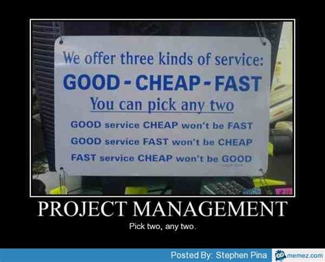 Meme Project Manager - project management memes com