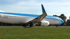 Aerol U00edneas Argentinas    Boeing 737  Despegue De