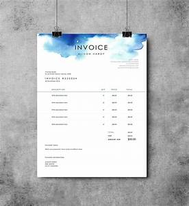 invoice template receipt ms word template instant With photography invoice template psd