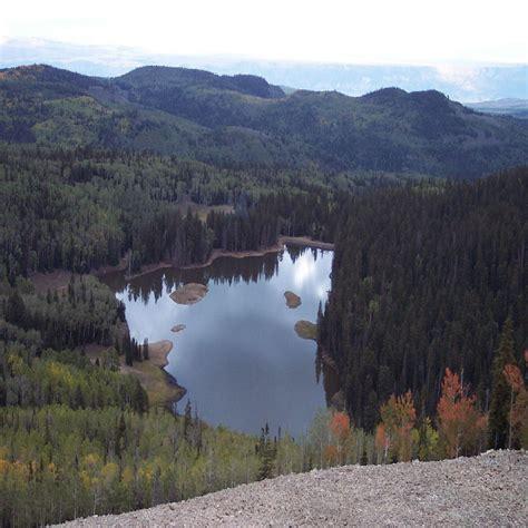 Scow Lake Utah by Barney Lake Marysvale Utah