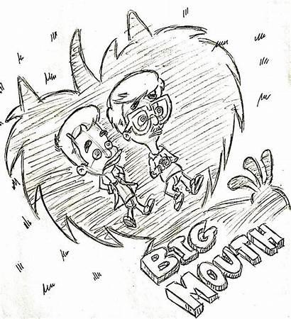 Mouth Fan Bigmouth