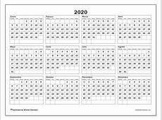 Calendarios 2020 DS Michel Zbinden ES