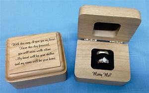 10 unique engagement ring boxes for the big moment the With unique wedding ring boxes