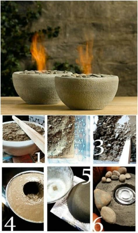 creatively cool concrete projects     life   diy crafts