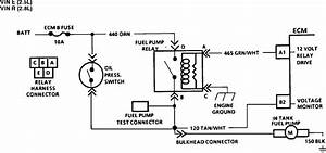 Where Is The Fuel Pump Relay Switch Located On An  U0026 39 87