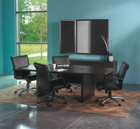 Mayline May Actb6 Aberdeen 6 Foot Boat Shaped Conference Table