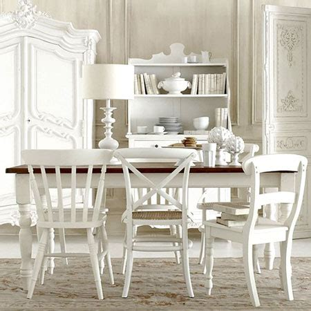 White Dining Room Chairs by All White Rooms Decorating With The Color White