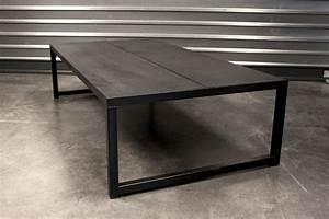 Table Basse En Beton : m tal b ton table basse collection m tal b ton by lyon b ton ~ Teatrodelosmanantiales.com Idées de Décoration