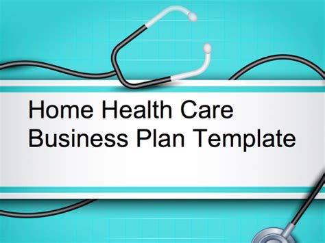 home health careelderly care business plan opportunity