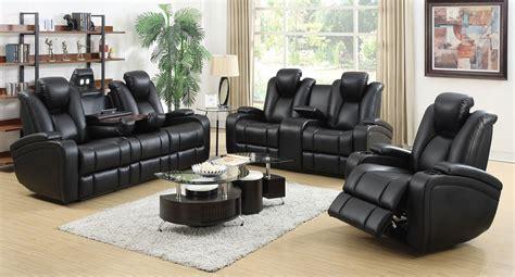 delange power reclining living room set living room sets