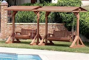 Garden Swing Bench Garden Swing Bench Plans - YouTube