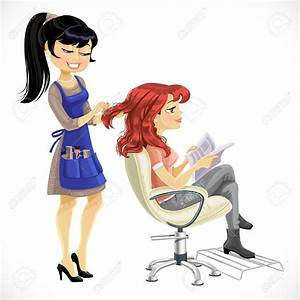 Woman barber clipart collection - Cliparts World 2019