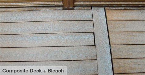 cleaning composite decking  bleach droughtrelieforg
