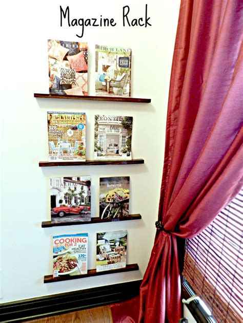 diy magazine rack can decorate