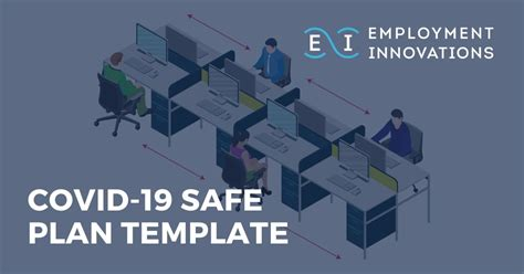 covid  safe plan template employment innovations