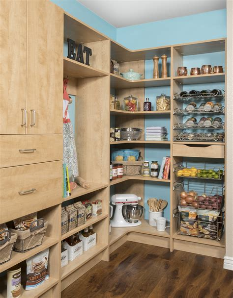 kitchen organization calgary custom pantry storage