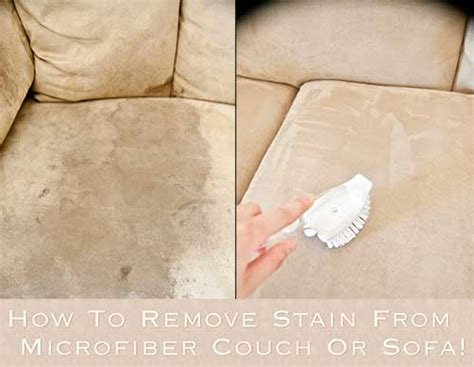 how to remove stain from microfiber or sofa - Stain Remover For Microfiber Sofa
