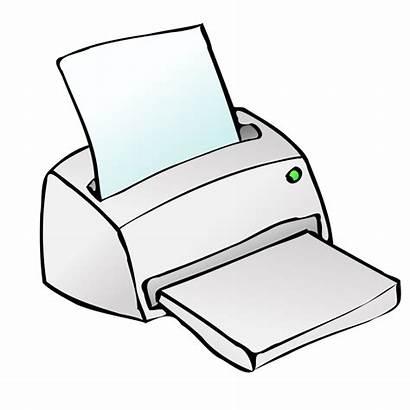 Cliparts Microsoft Clip Office Computer Clipart Printer