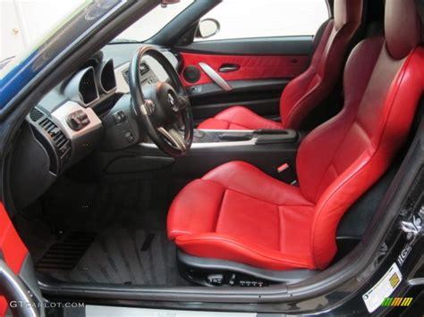 Bmw Z4 Red Interior.dream Red Interior 2006 Bmw Zsi