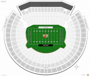 Oakland Raiders Seating Guide
