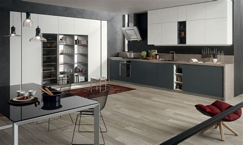 cuisine moderne blanc et bois davaus cuisine bicolore bois et gris avec des