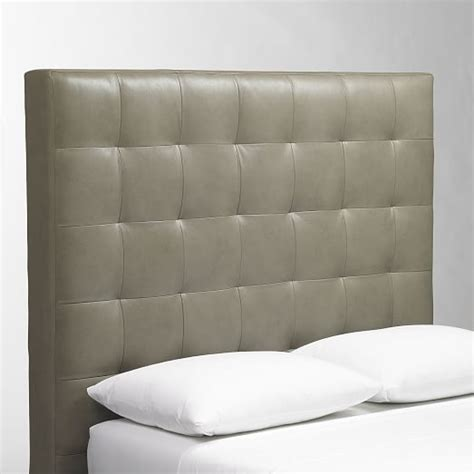 Tall Leather Gridtufted Headboard  West Elm. Bathtub Shower Combo. Rustic Living Room Ideas. Lilly Pulitzer Bedding. Halogen Floor Lamp. White Modern Chair. Smith Brothers Furniture Reviews. Small Bedroom Design Ideas. Heated Bathroom Floor