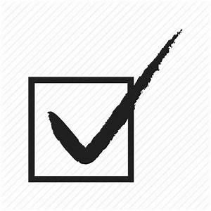 Check, check mark, cross, mark, tick, vote, voting icon ...