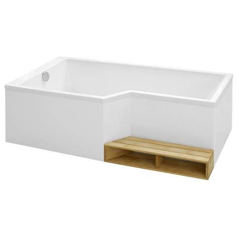 ensemble baignoire bain douche neo 160 x 90 70 acrylique