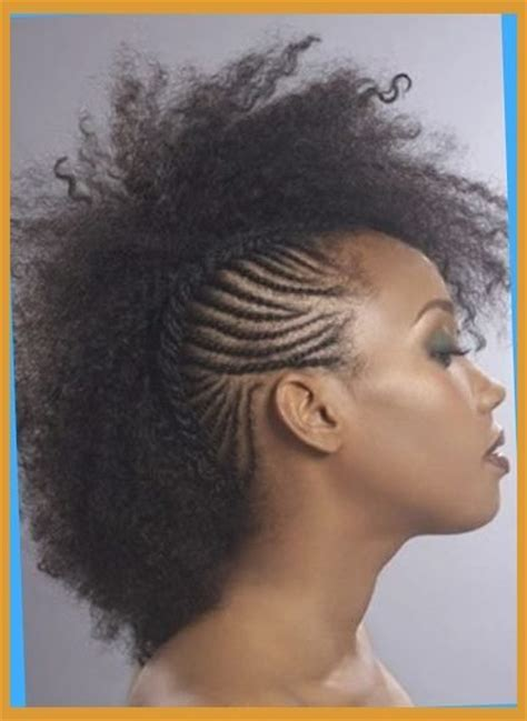 african american female mohawk hairstyle pictures For
