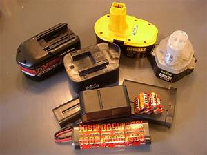 Review: Ni-Cad Battery Rebuild - by C PLUS Woodworker