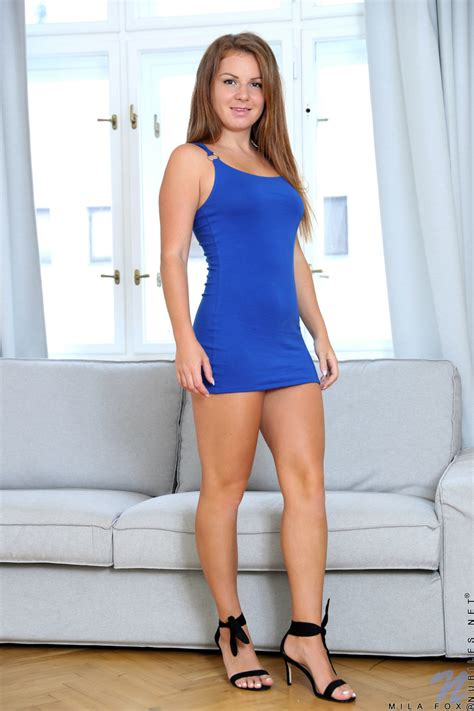 Mila Fox Girl On High Heels Fantastic Nudity And Masturbation