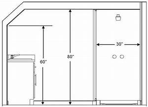 Bathroom ceiling height building code requirement for Bathroom window height from floor