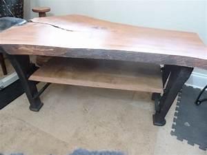 live edge cherry coffee table ashevillewoodcom With live edge cherry coffee table