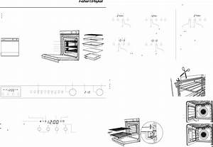 Fisher  U0026 Paykel Oven Ob60sl9dex User Guide