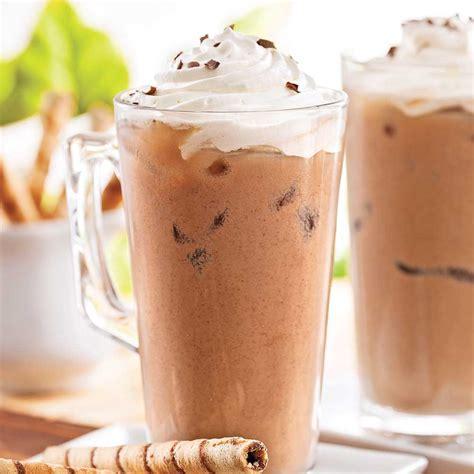 cuisine glace cappucino glacé choco amandes recettes cuisine et nutrition pratico pratique