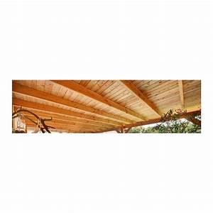 Poteau Bois Rond 3m : planche embo tement 28x195 douglas autoclave marron ~ Voncanada.com Idées de Décoration