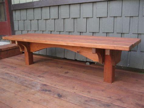 craftsman style deck craftsman style redwood built