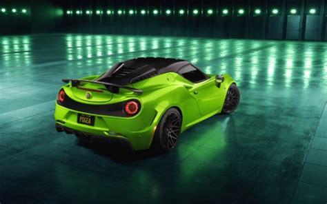 Pogea Racing Alfa Romeo 4c Centurion Green Arrow 2018 4k 4