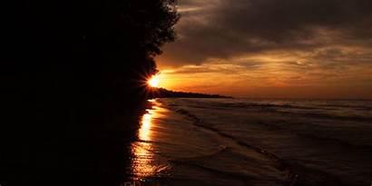 Cinemagraph Sunset Cinemagraphs Waves Water Load Websites