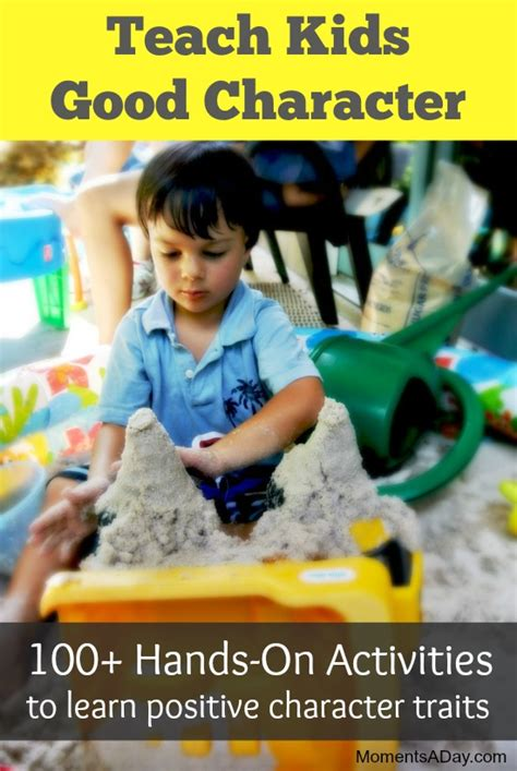 activities  teach kids good character