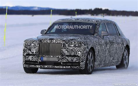 Rolls Royce Car : 2018 Rolls-royce Phantom Spy Shots
