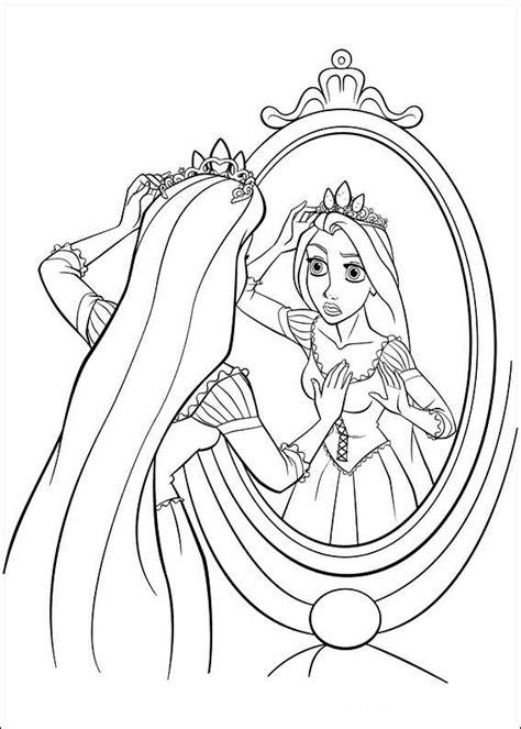 Kleurplaat Rapunzel by Rapunzel Kleurplaten 187 Animaatjes Nl