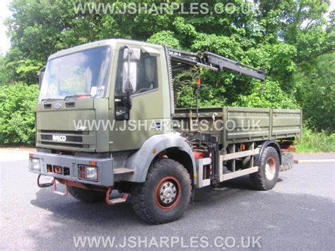Iveco 95e21 4x4 Truck C/w Atlas Crane For Sale