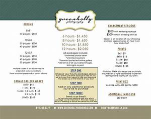 wedding photographer price list detroit green holly With wedding video rates