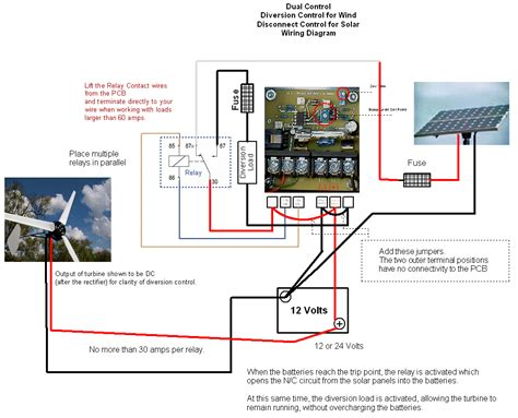 Solar Charge Controller Wiring Diagram by Solar Wind Turbine Generator Charge Load Controller Ebay