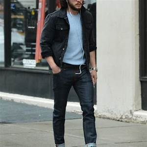 Black Denim Jacket Outfits For Men – LIFESTYLE BY PS