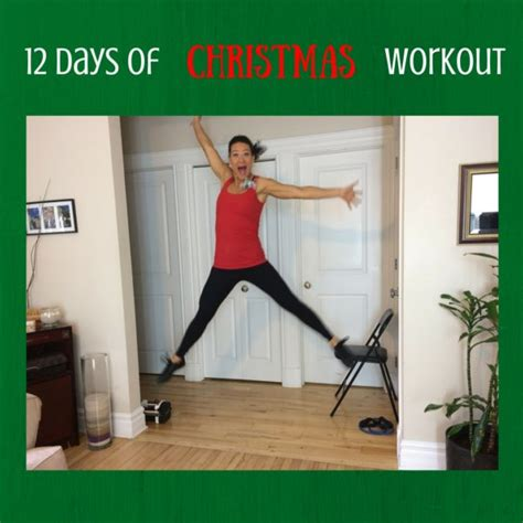 christmas workout days excitement