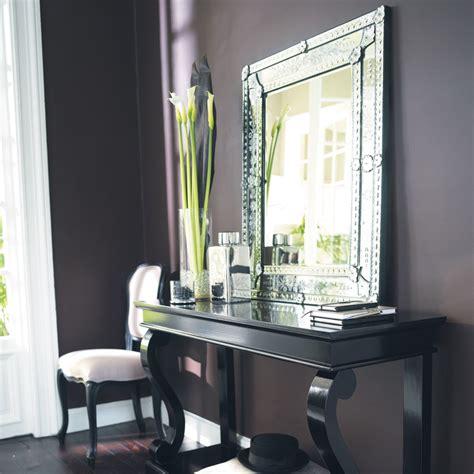 miroir en verre   cm venitien maisons du monde