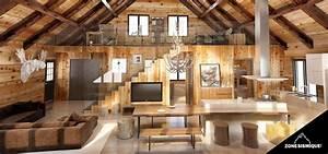 habitastyl menuiserie charpente et isolation a With plan maison avec jardin interieur 8 une maison 224 la deco de luxe