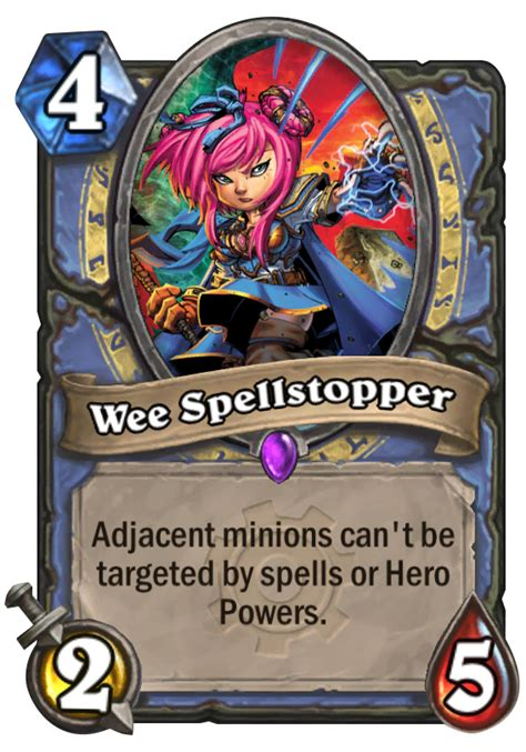 Top Tier Decks Hearthstone by Wee Spellstopper Hearthstone Card